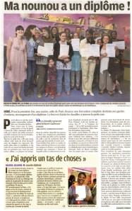 article du parisien sur les auxiliaires parentales